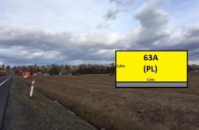 (PL) Chyžne - Jablonka, rozmer plochy 5,8m x 12m