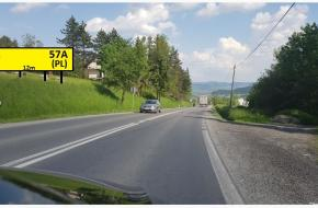 (PL)  plocha 12m x 3m - Krakow smer Rabka