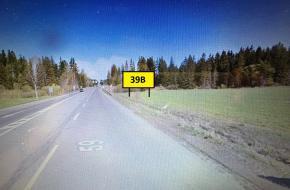 39B BILLBOARD TRSTENÁ - Štátna hranica Chyžne