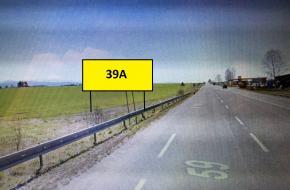 39A BILLBOARD TRSTENÁ - Štátna hranica Chyžne