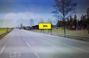 38A BILLBOARD TRSTENÁ - Štátna hranica Chyžne