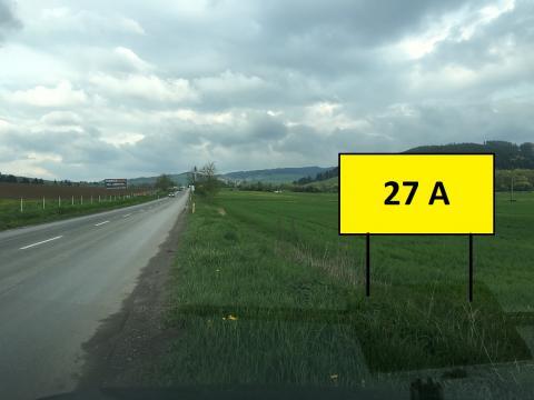 27A  BILLBOARD, DOLNÝ KUBÍN - VELIČNÁ
