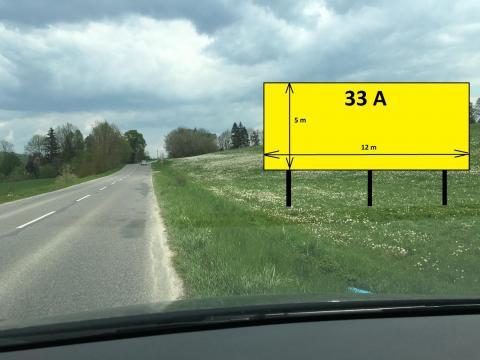33A  MEGABOARD  LOKCA - ŤAPEŠOVO ( 5m x 12m )